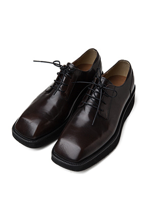 Angular Toe Derby Shoes