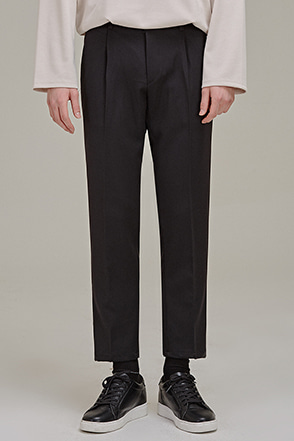 Semi-Banded Waist Ankle Pants
