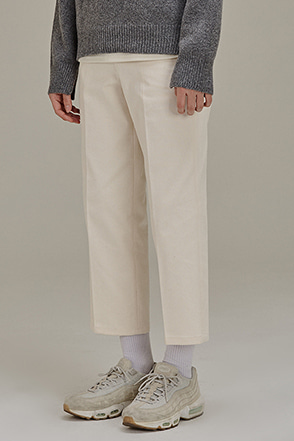 Cropped Loose Leg Pants
