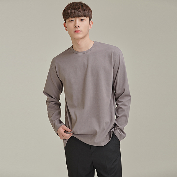 Side Slit Crew Neck T-Shirt