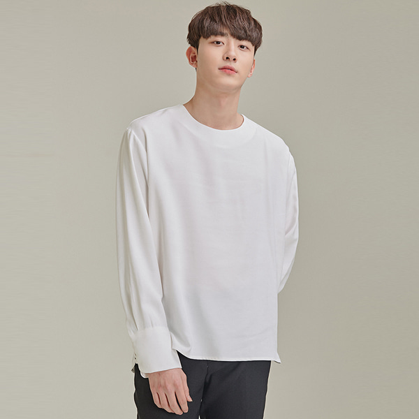 Jewel Neck Shirt