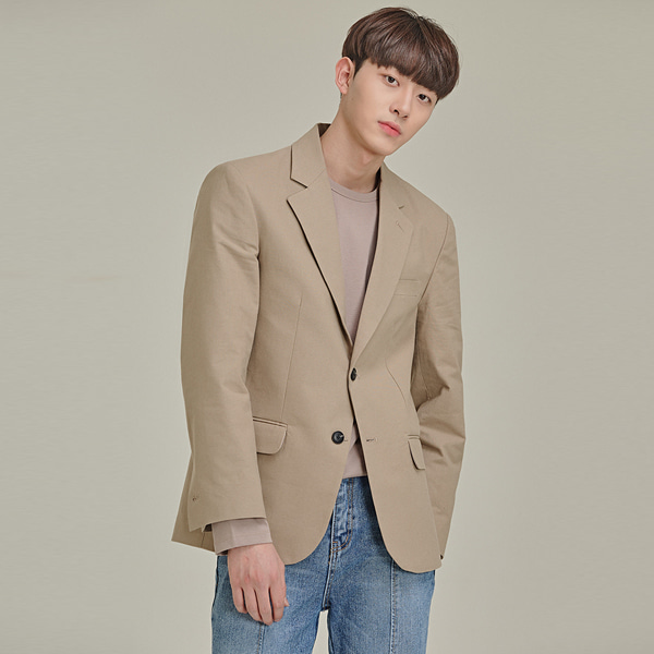 Two-Button Lapel Jacket