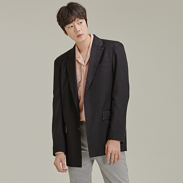Classic Two-Button Jacket